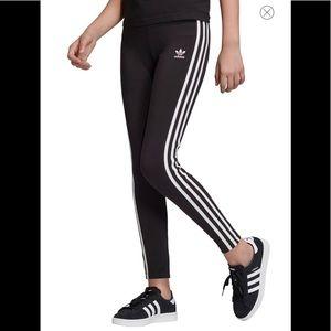 New adidas originals 3 stripes Leggings Girl youth